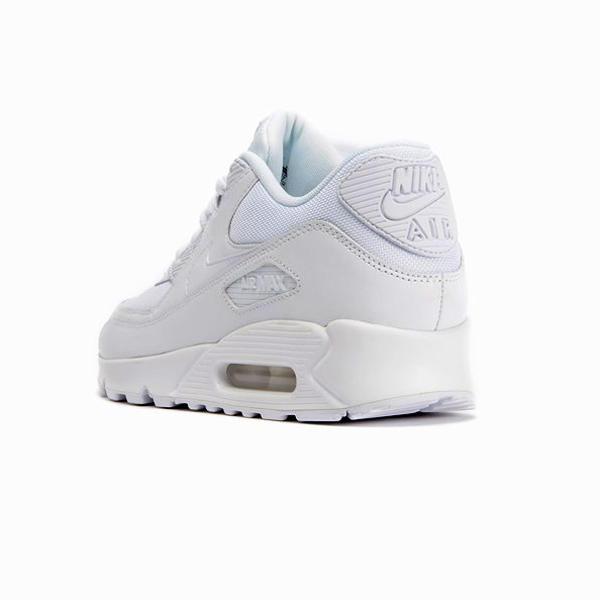 separation shoes 9262b 60496 ... Nike Air Max 90 Essential White White ...